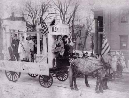 1918 Community Parade, Downtown St. Paul, For War Relief Fund Drive